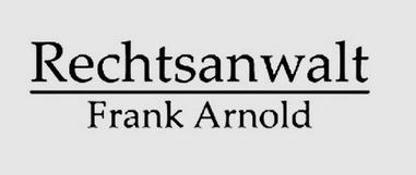 Frank Arnold Rechtsanwalt