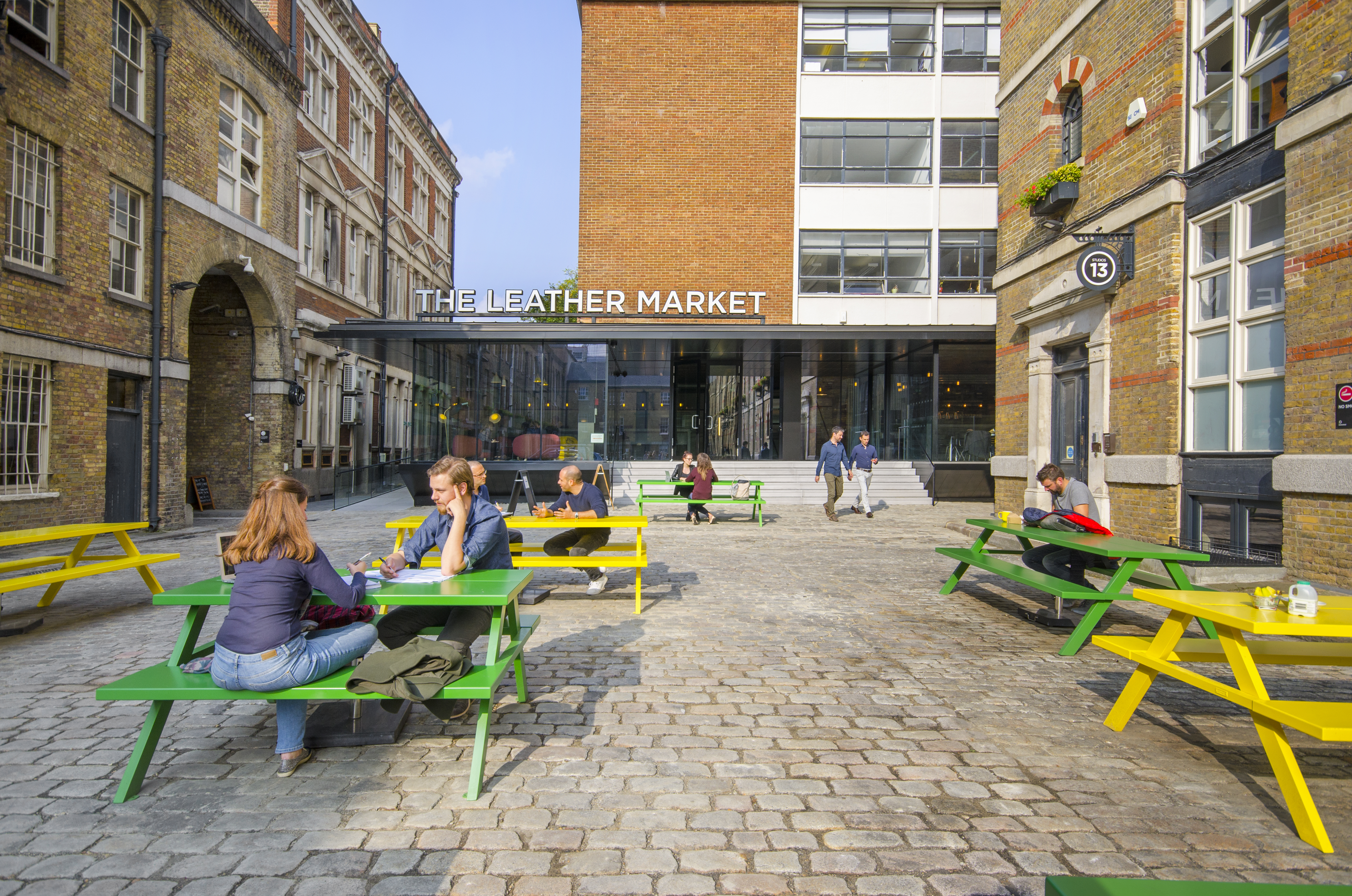 Workspace | The Leather Market Business Centre