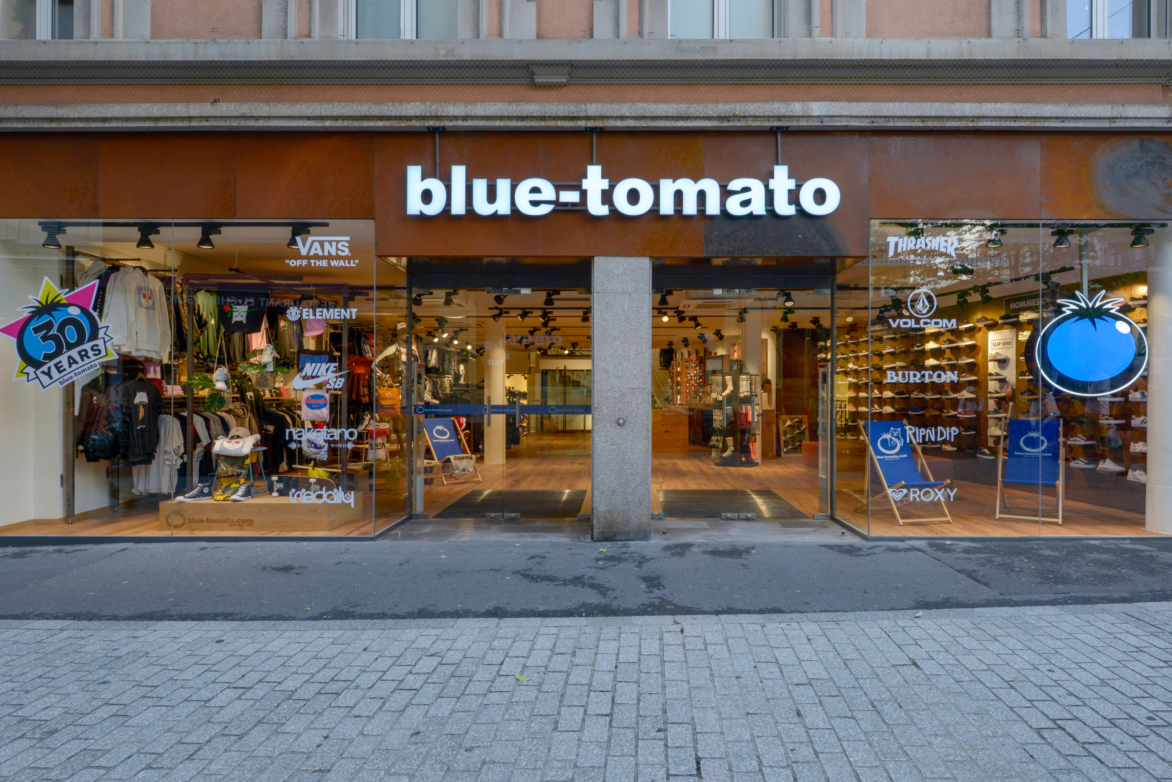 Magasin Blue Tomato Lausanne