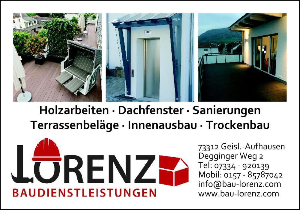 Bild zu Lorenz Baudiensleistungen in Geislingen an der Steige