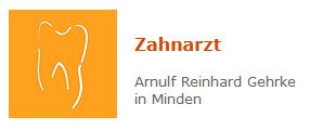 Arnulf Reinhard Gehrke - Zahnarzt in Minden Minden