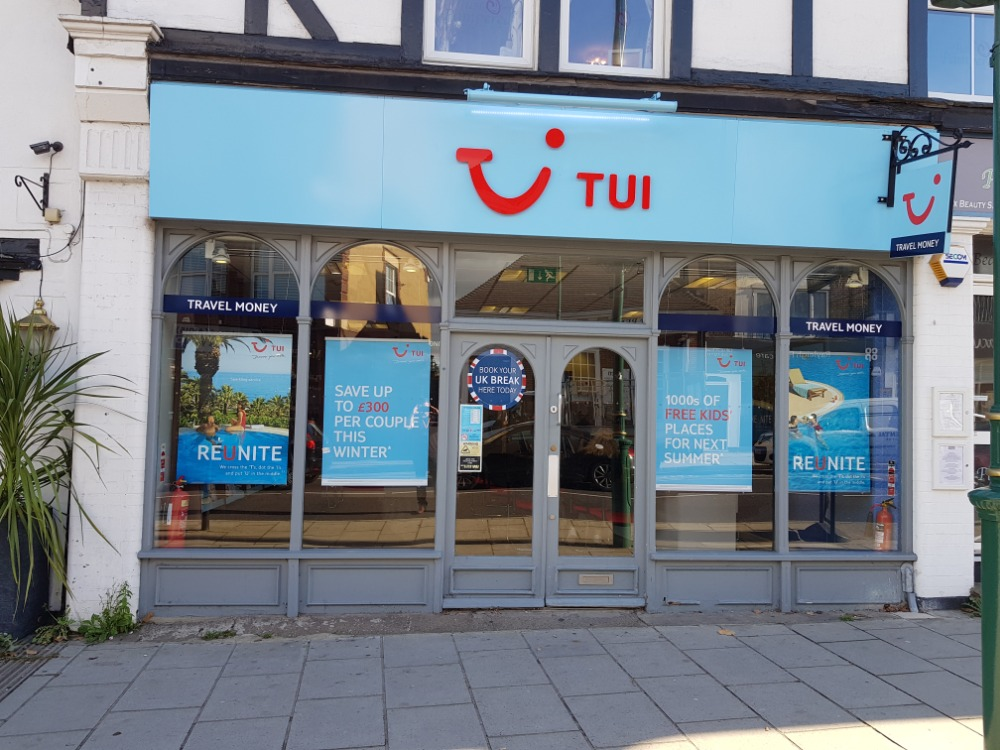 Tui Holiday Store Rayleigh Essex Ss6 7ej 01268 745574