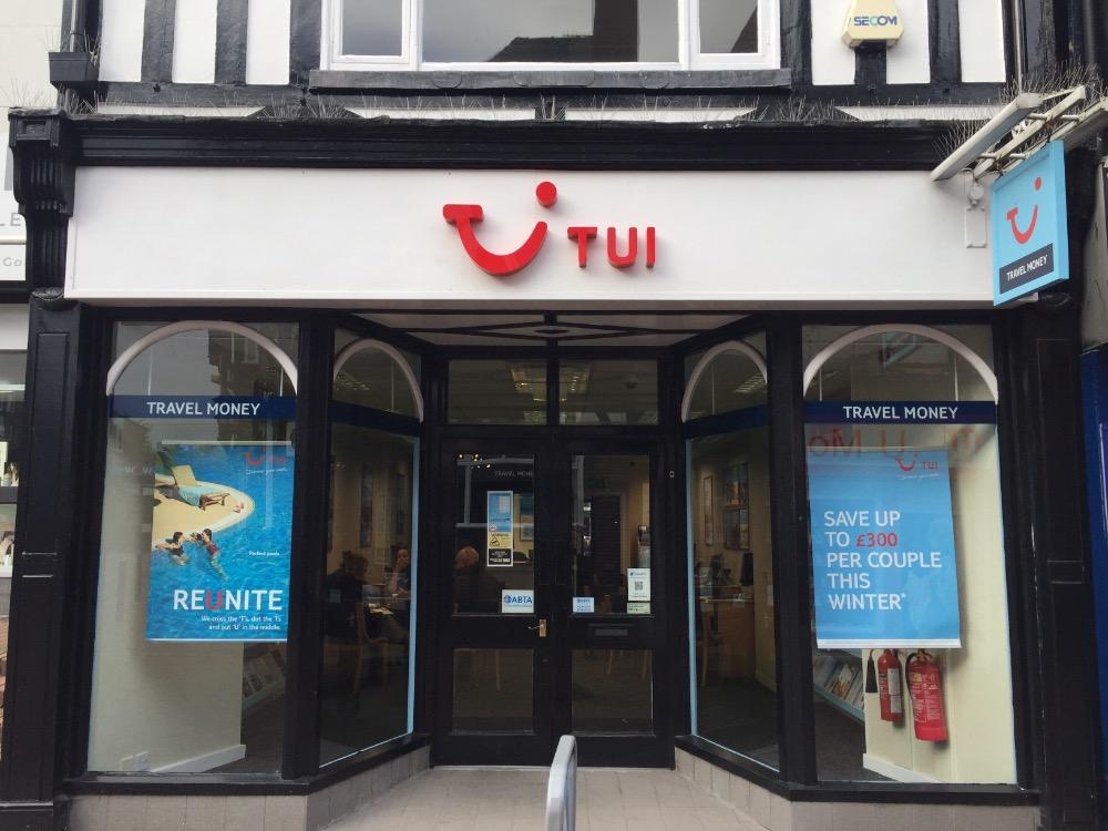 TUI Holiday Store - Northwich, Cheshire CW9 5DE - 0160640450 | ShowMeLocal.com