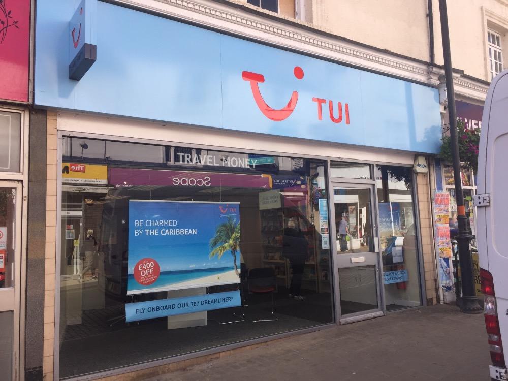 TUI Holiday Store - Wellingborough, Northamptonshire NN8 1BQ - 01933 229221 | ShowMeLocal.com