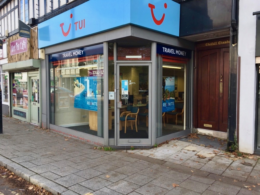 TUI Holiday Store - Cheadle, Lancashire SK8 1AA - 01614 912255 | ShowMeLocal.com