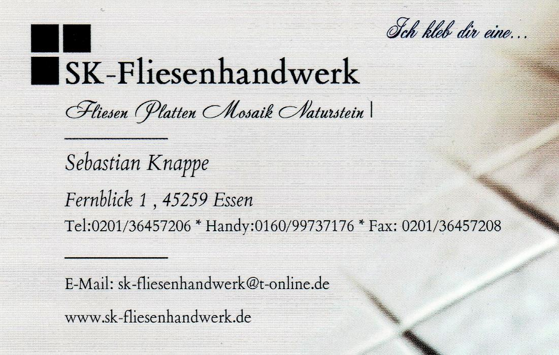 Bild zu SK-Fliesenhandwerk in Essen