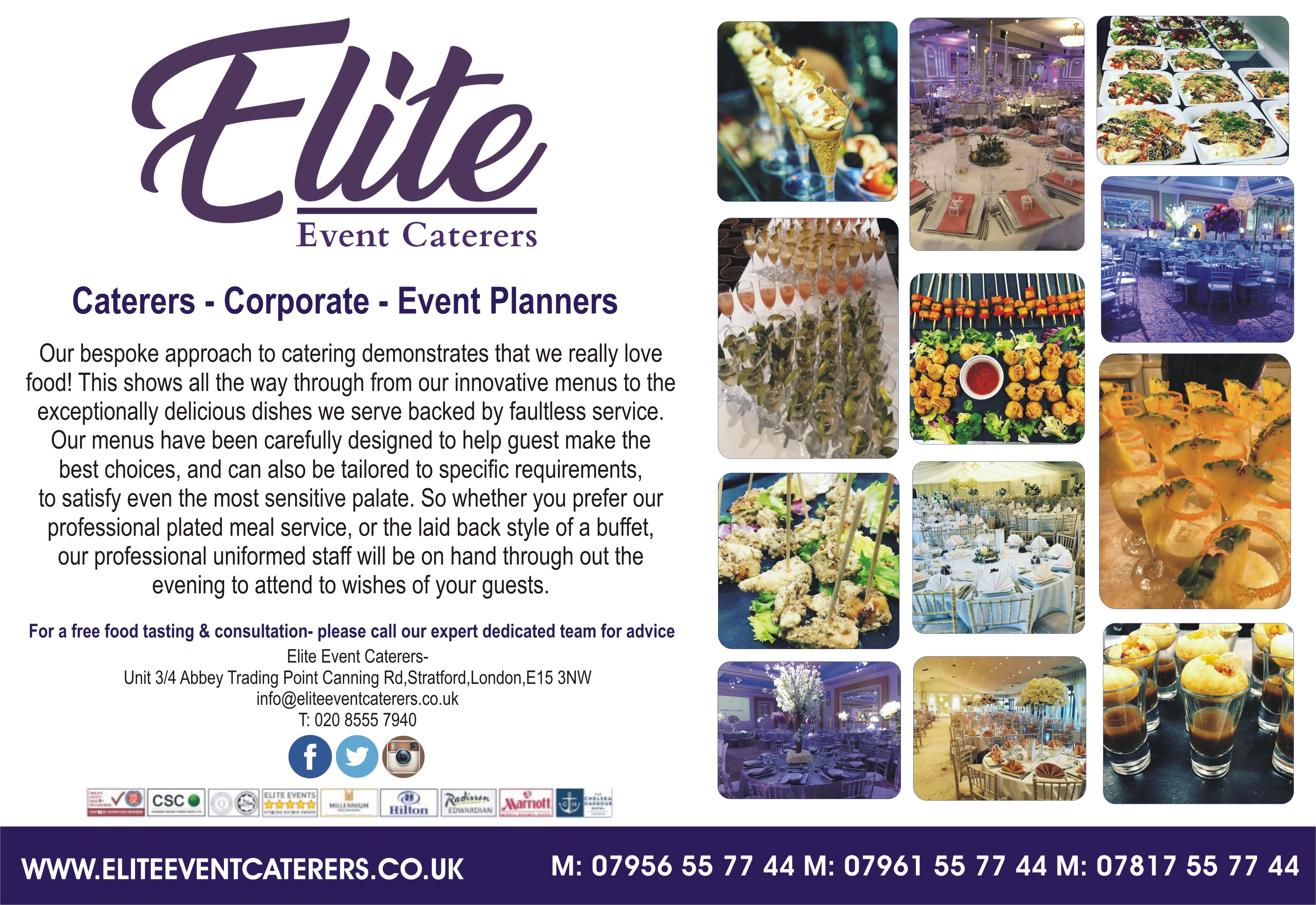 Elite Event Caterers