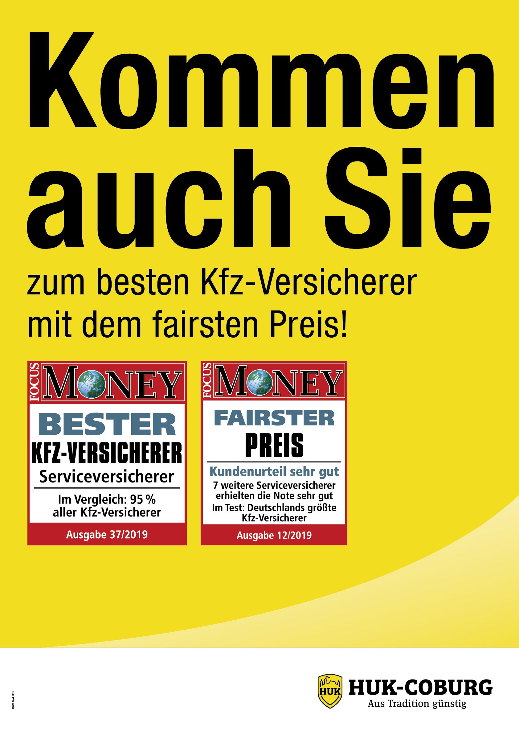 HUK-COBURG Versicherung Peter Müller in Rennerod