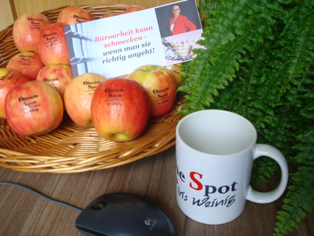 "Office on the Spot Iris Weinig Büromanagement ""just in time"""