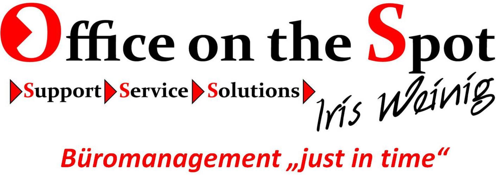 """Bild zu Office on the Spot Iris Weinig Büromanagement """"just in time"""" in Taunusstein"""