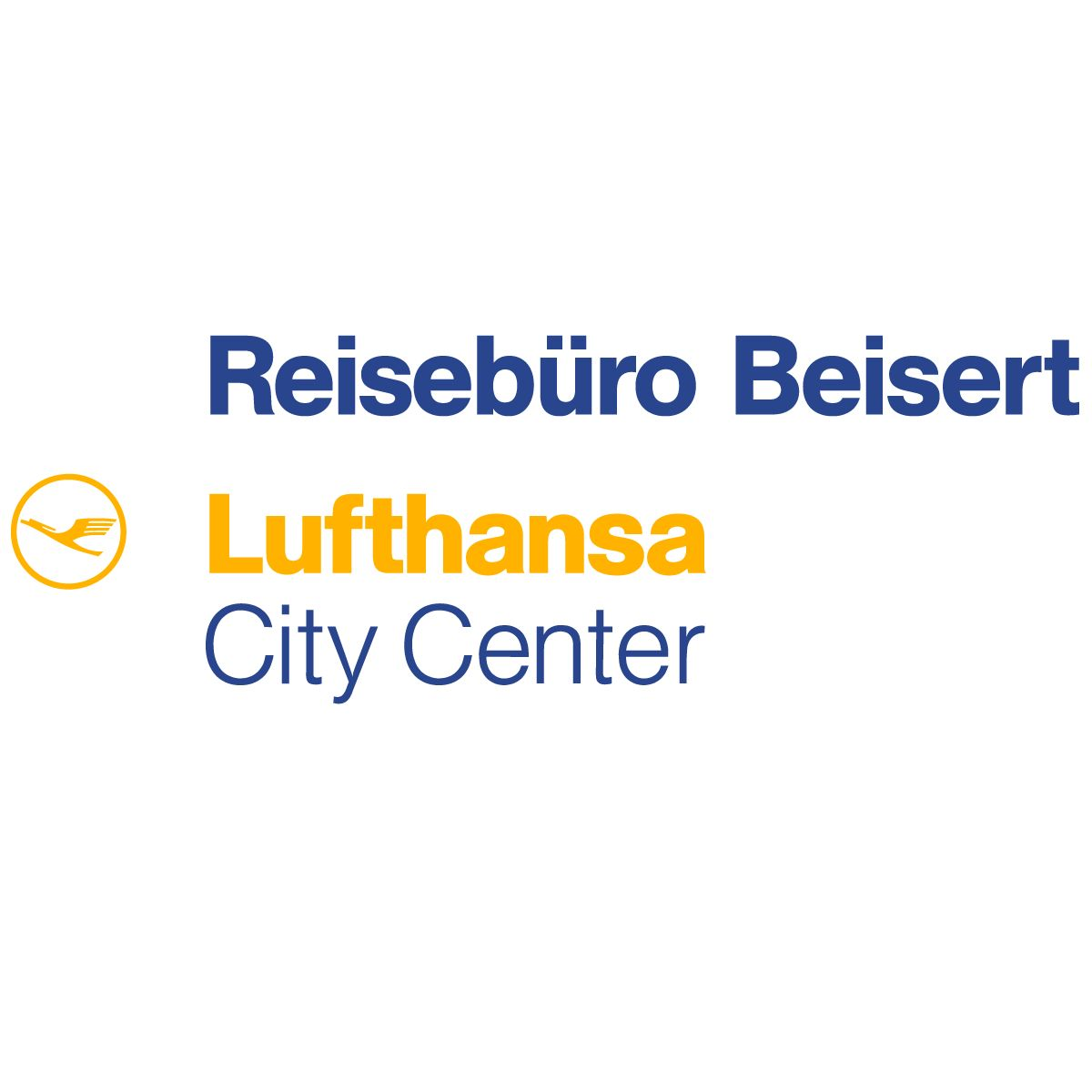 Reisebüro Beisert GmbH Lufthansa City Center Logo