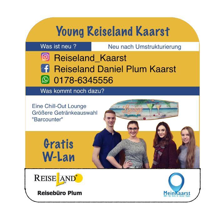 Reiseland Kaarst Daniel Plum