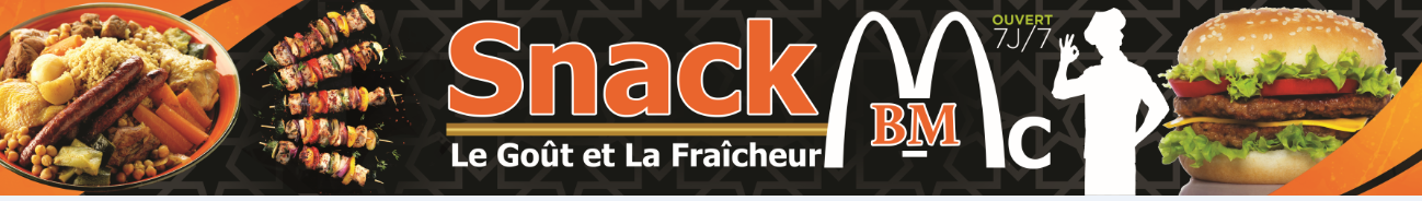 SNACK McBM restauration rapide et libre-service