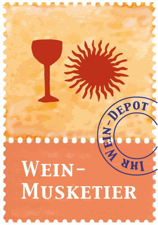 Wein-Musketier Stuttgart, Guido Keller - Wein & Kultur Logo