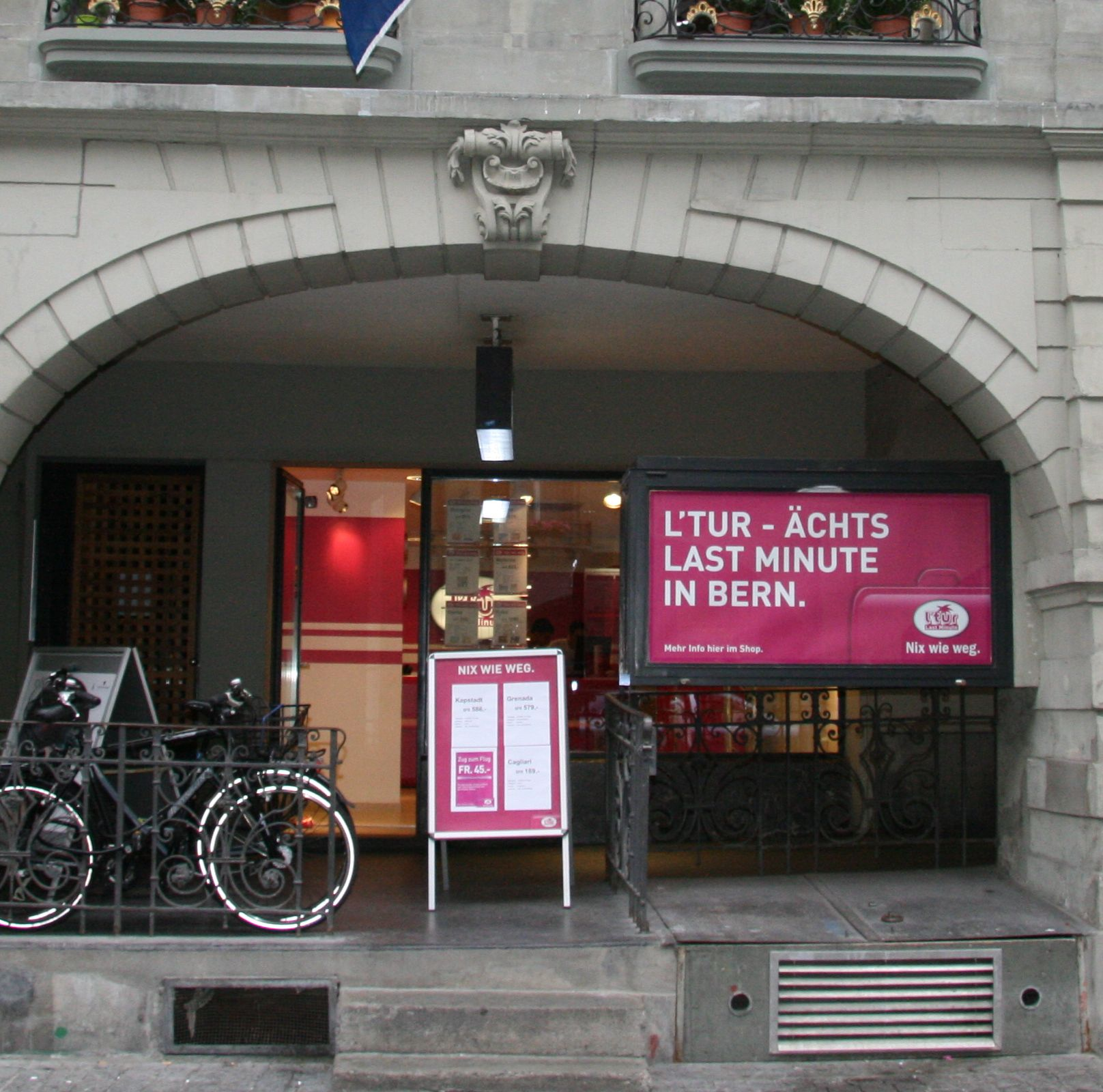 l'tur Reisebüro Bern