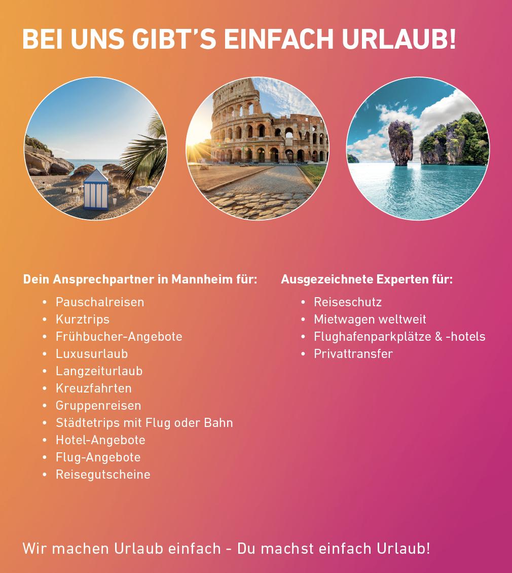 l'tur Reisebüro Mannheim