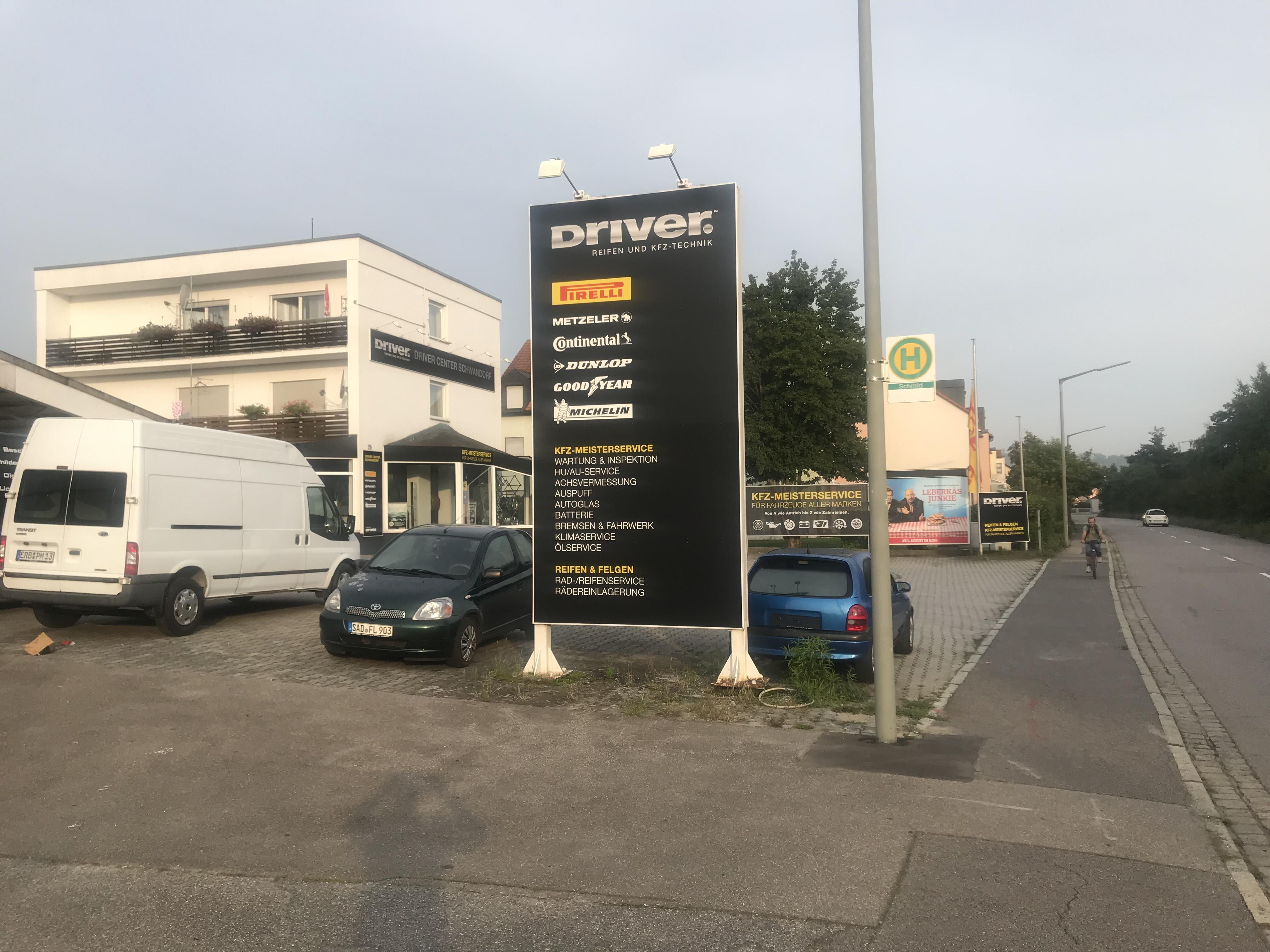 DRIVER CENTER SCHWANDORF - DRIVER REIFEN UND KFZ-TECHNIK GMBH
