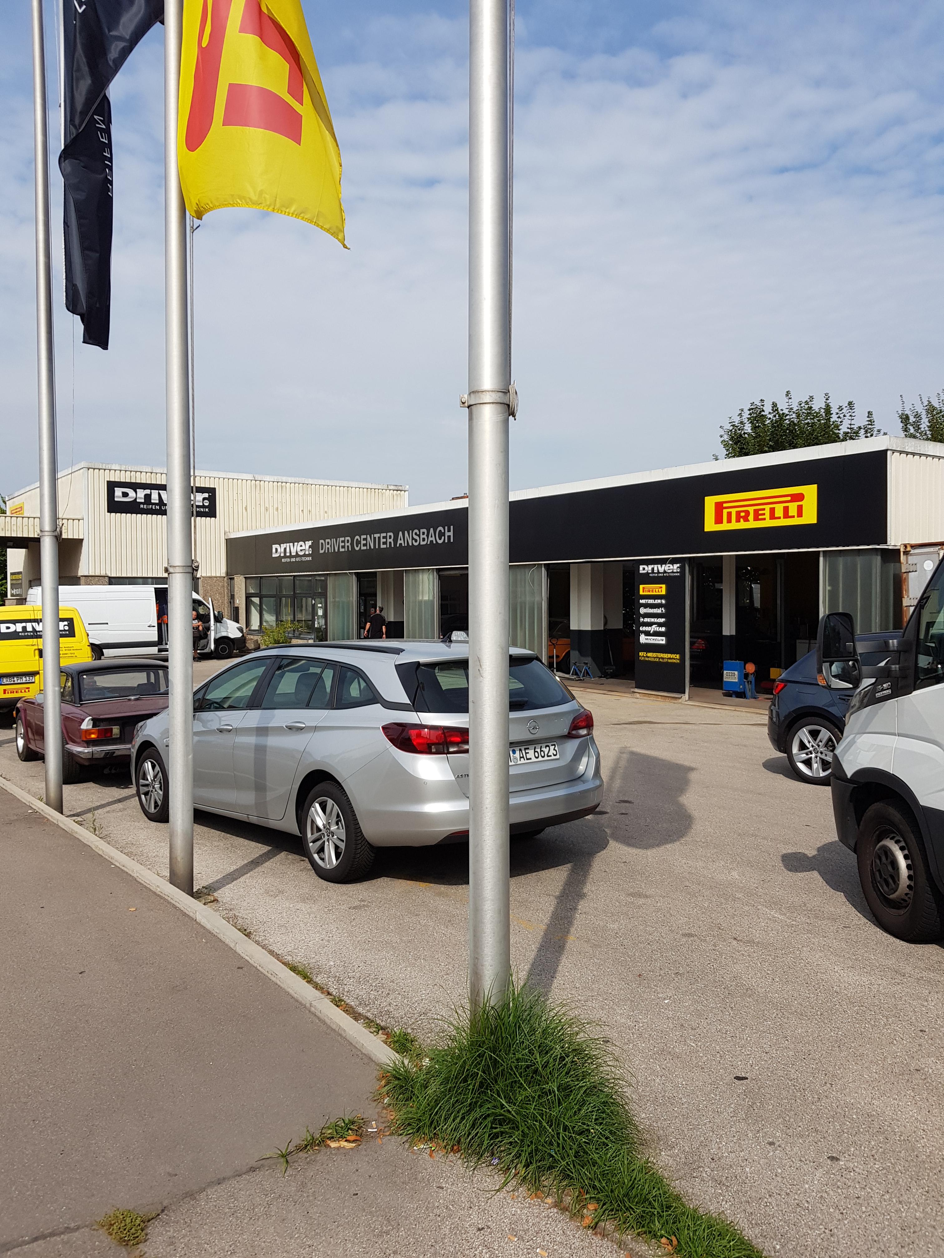 DRIVER CENTER ANSBACH - DRIVER REIFEN UND KFZ-TECHNIK GMBH
