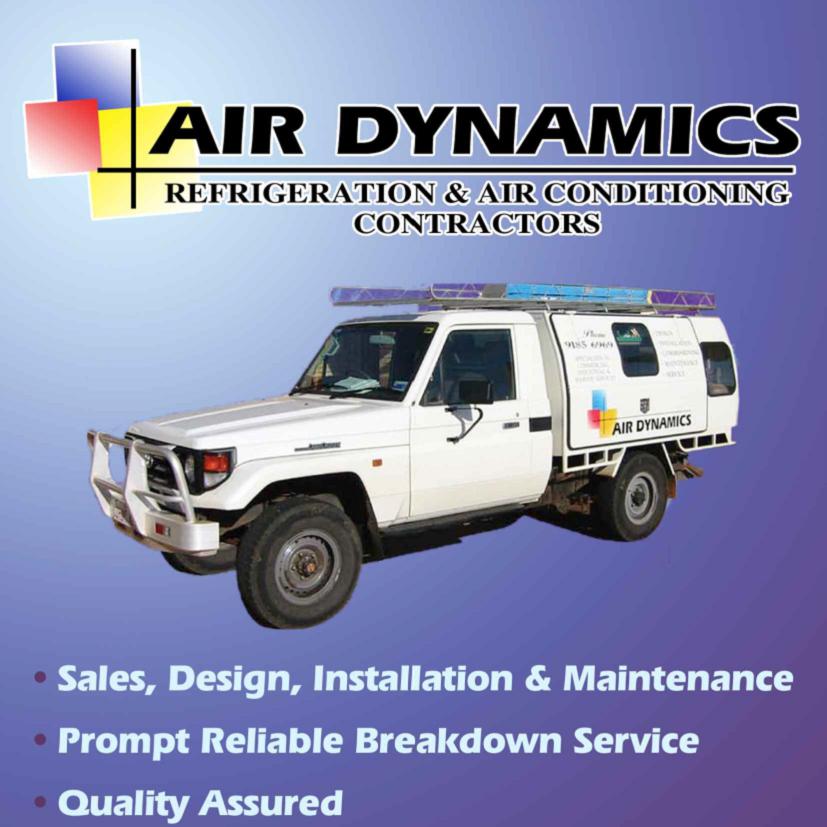 Air Dynamics - Pegs Creek, WA 6714 - (08) 9185 6969 | ShowMeLocal.com
