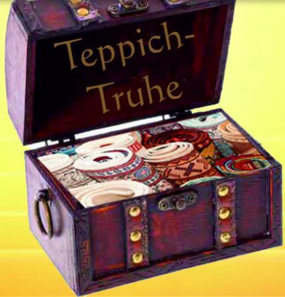 Teppich-Truhe