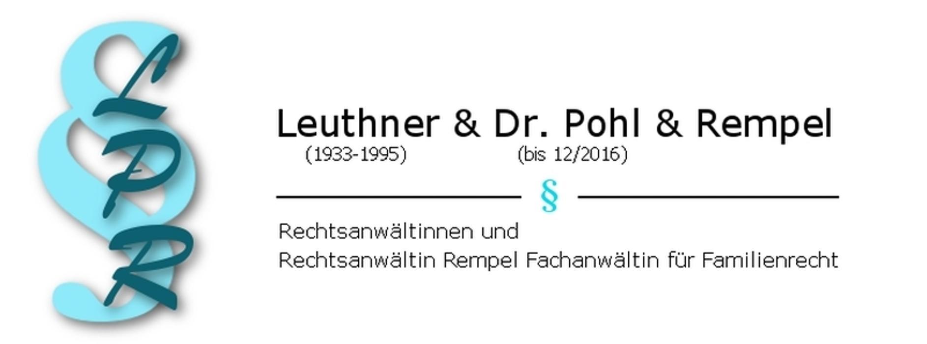 Bild zu Anwaltskanzlei Leuthner, Dr. Pohl u. Rempel in Ludwigshafen am Rhein
