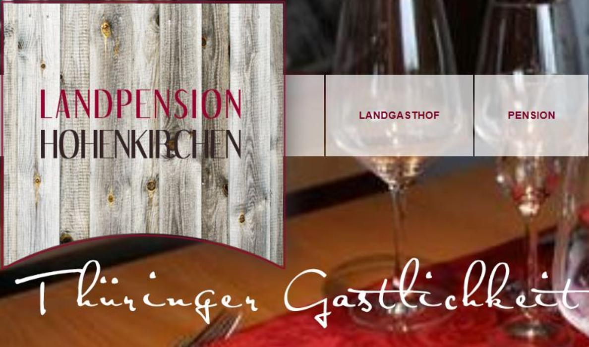 Logo von Landgasthof & Landpension Hohenkirchen