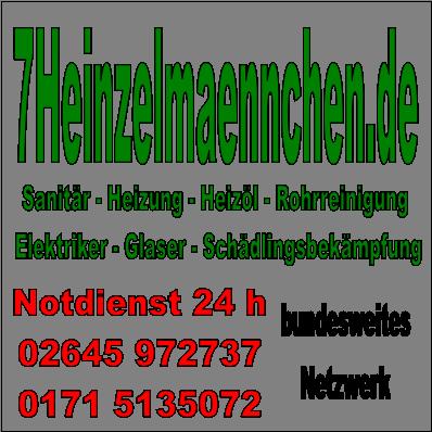 7Heinzelmaennchen bundesweiter 24h Notdienst