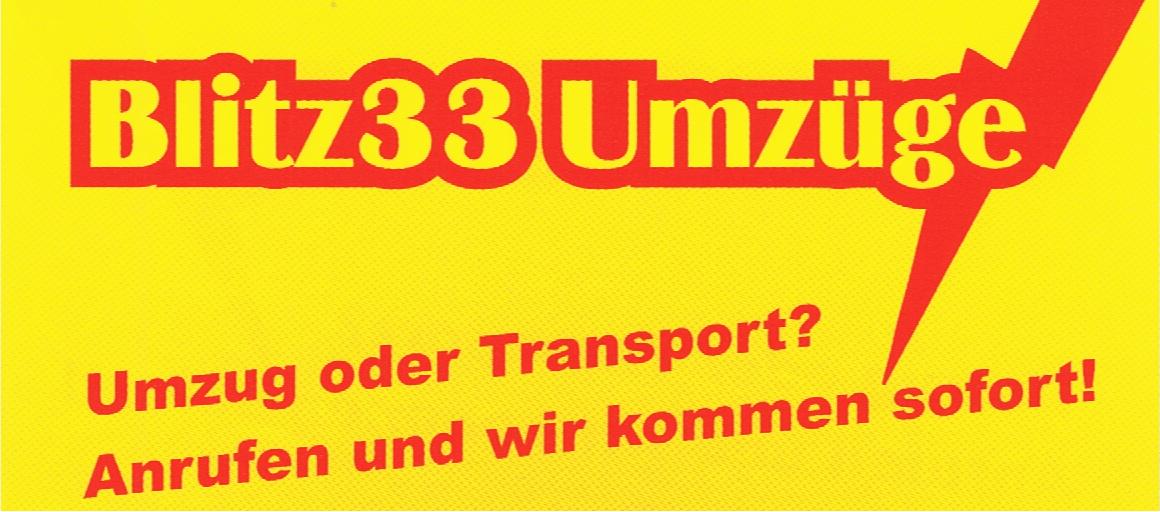 Blitz33 Umzüge & Transport