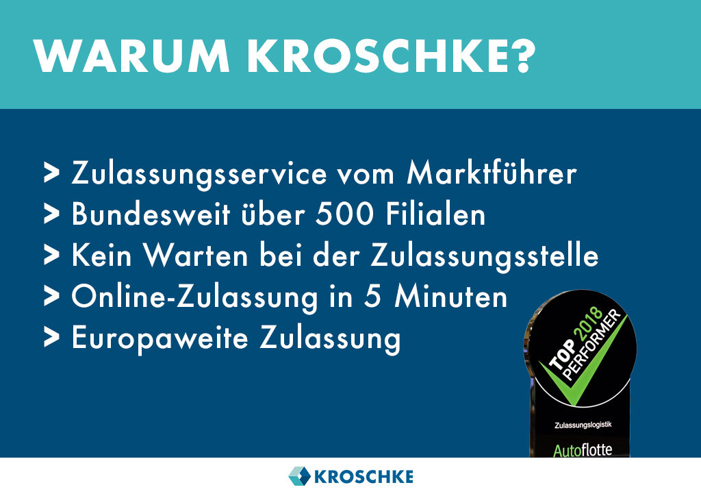 Kfz Zulassungen und Kennzeichen Kroschke