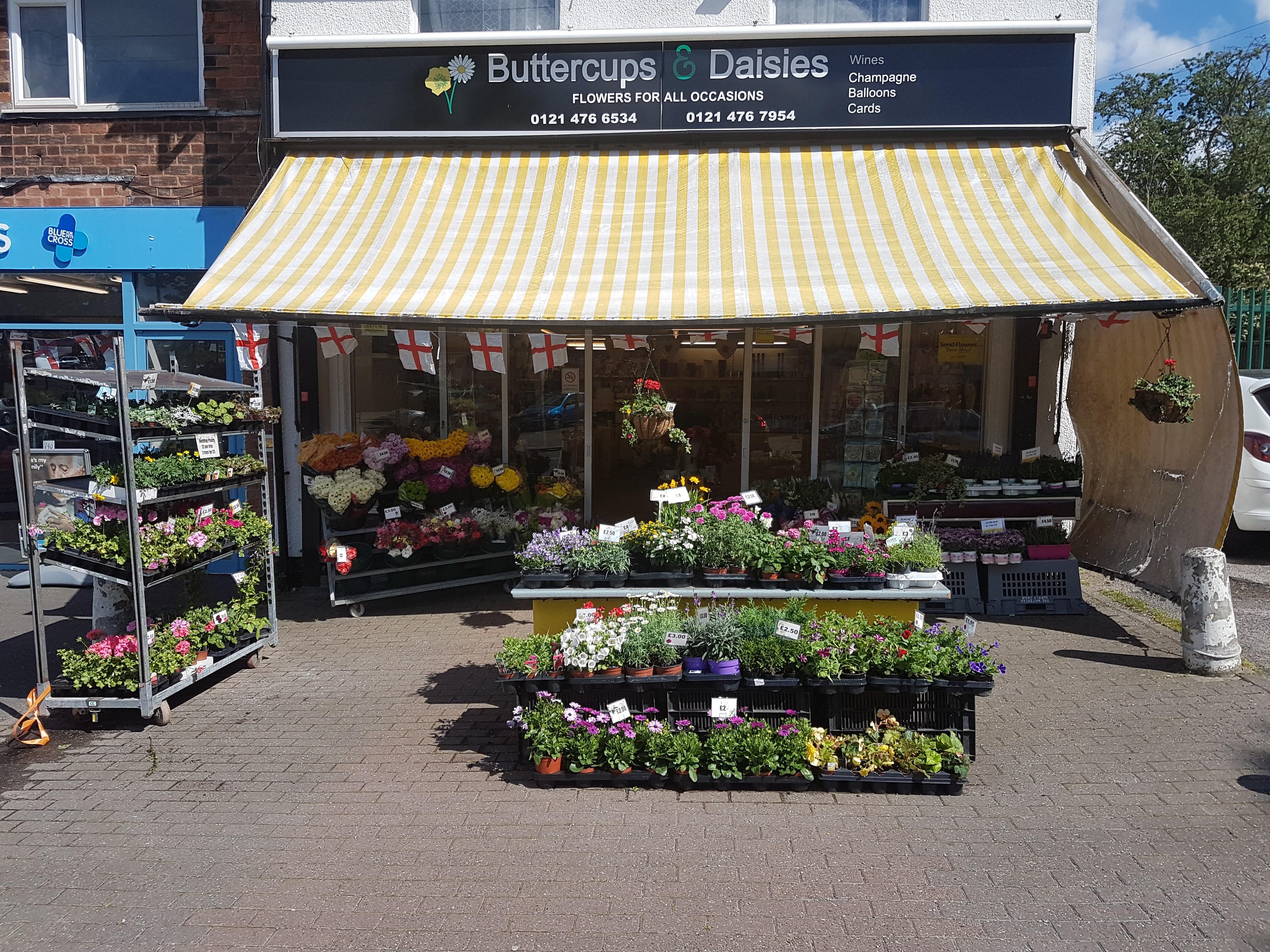 Buttercups & Daisies Florist Birmingham