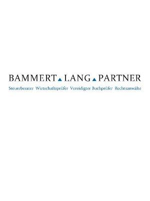 Bammert Lang und Partner Partnerschaftsgesellschaft mbB