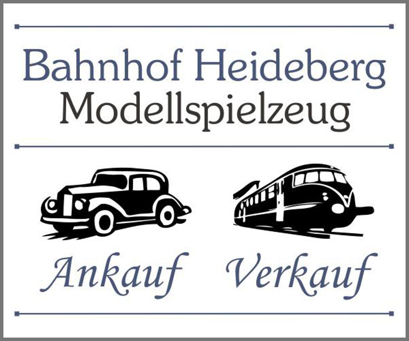Bahnhof Heideberg - Modelleisenbahn Ankauf Verkauf Modellspielzeug