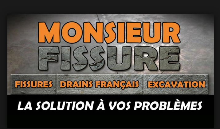 Monsieur Fissure - Fondation & Excavation