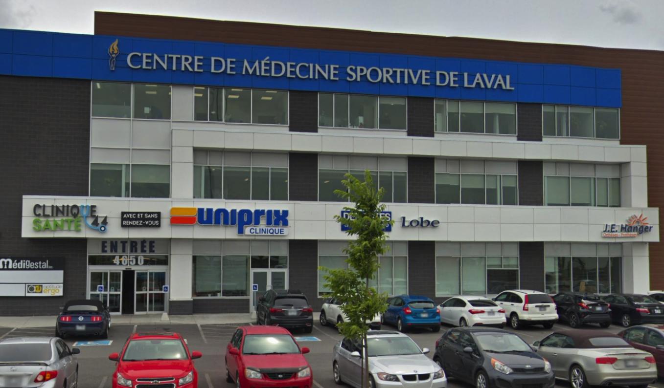 Centre de Médecine sportive de Laval - Ostéopathie - Laval, QC H7T 2Z8 - (450)688-0445 | ShowMeLocal.com