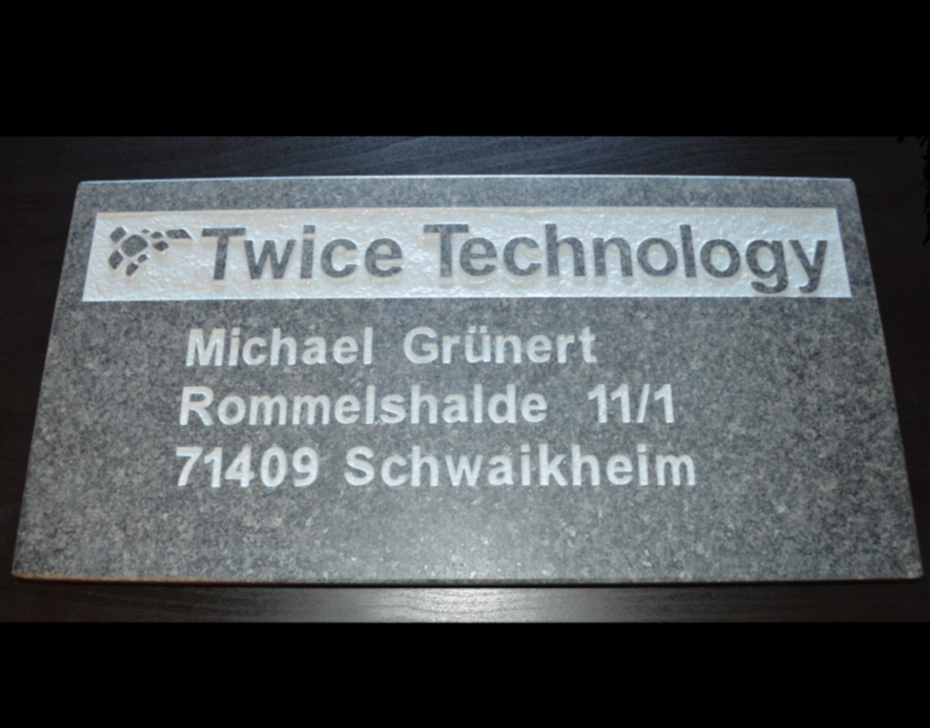 Twice Technology - Michael Grünert -