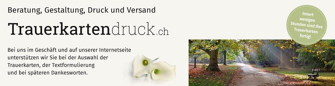 Spross AG Trauerkartendruck