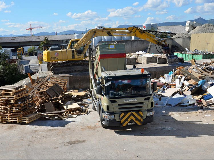 BAUSORT AG - die Recycling Oase