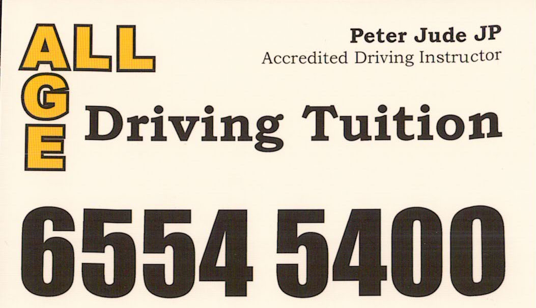 ALL AGE Driving Tuition