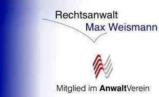 Max Weismann Rechtsanwalt
