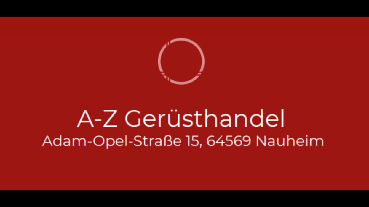 Bild zu A-Z Gerüsthandel Inhaberin Stefanie Neeb in Nauheim Kreis Gross Gerau