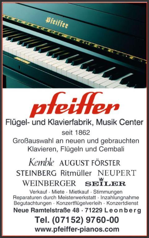 Flügel- und Klavierfabrik Carl A. Pfeiffer GmbH & Co. KG