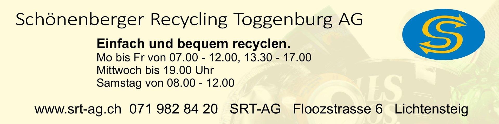 Schönenberger Recycling Toggenburg AG