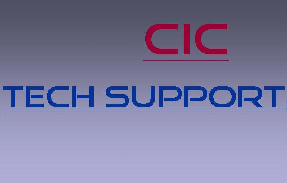 CIC Tech Support
