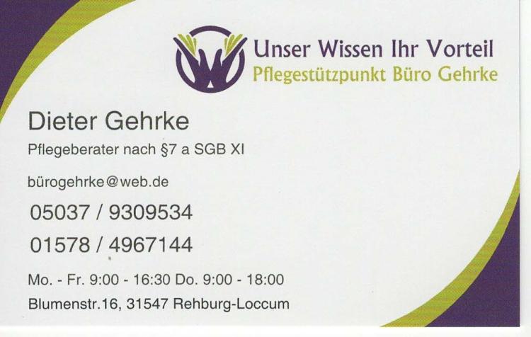 Pflegestützpunkt Büro Gehrke