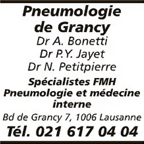 Pneumologie de Grancy