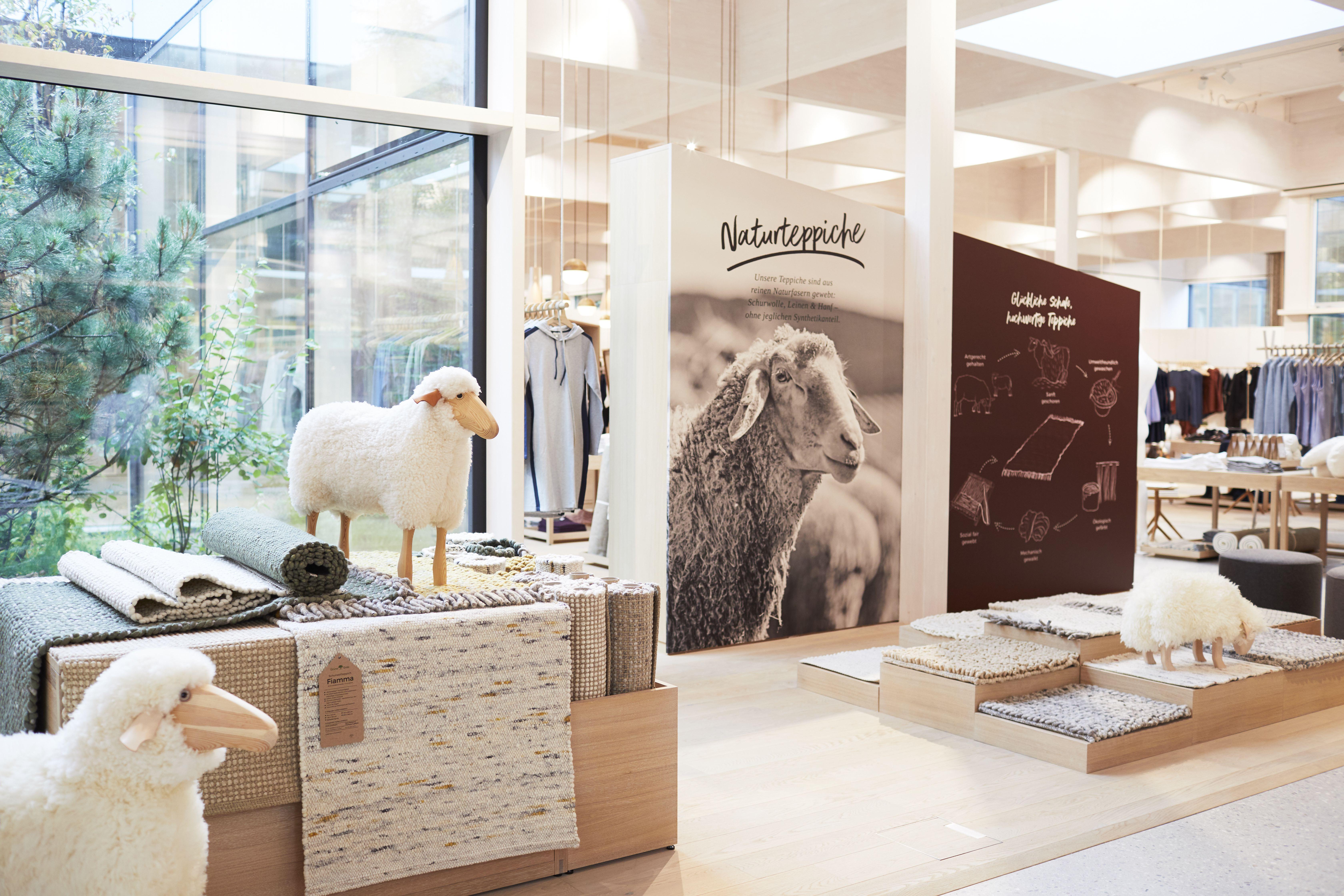 Grüne Erde Welt Möbel Einzelhandel Steinfelden österreich