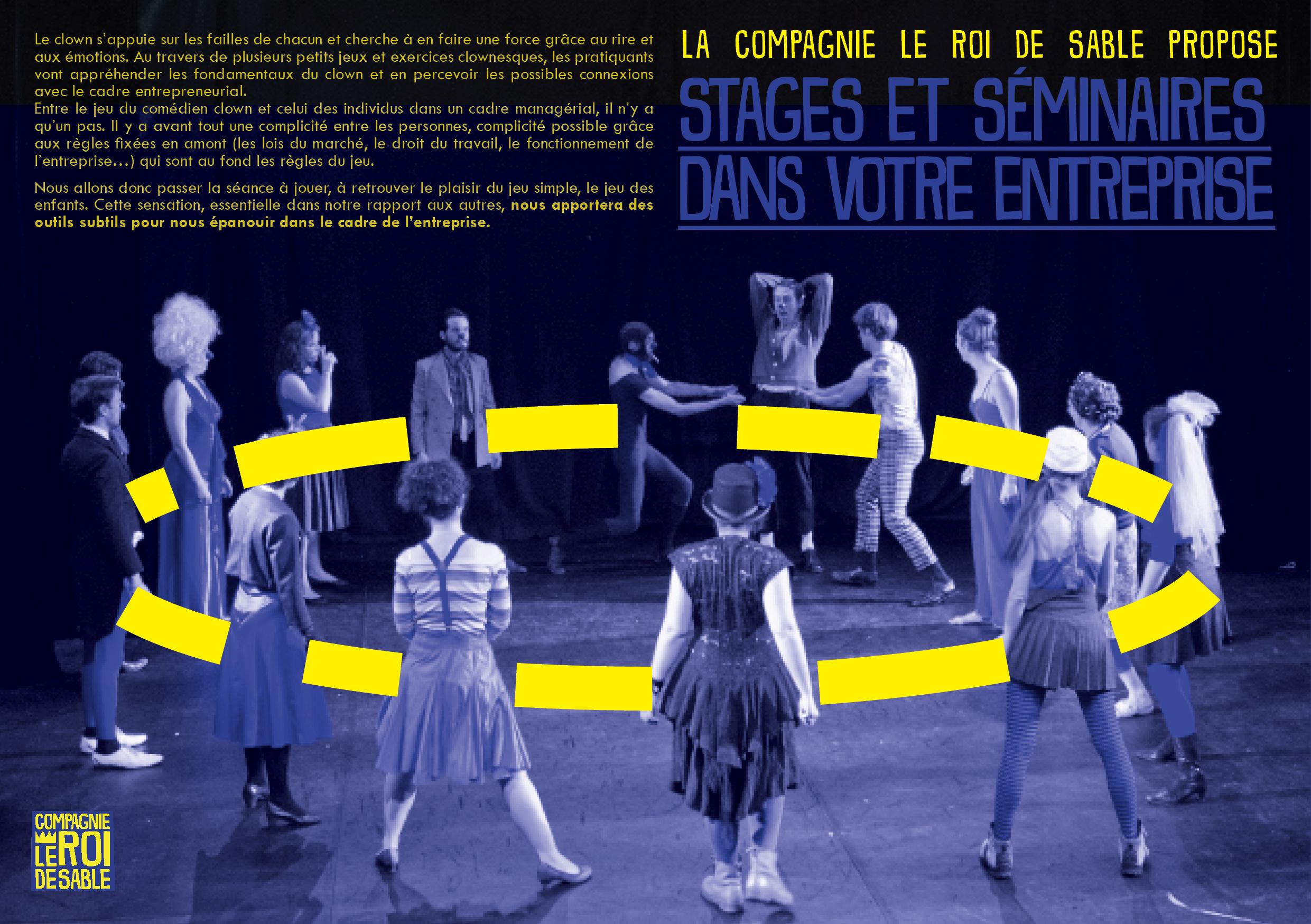 Association Compagnie Le Roi De Sable
