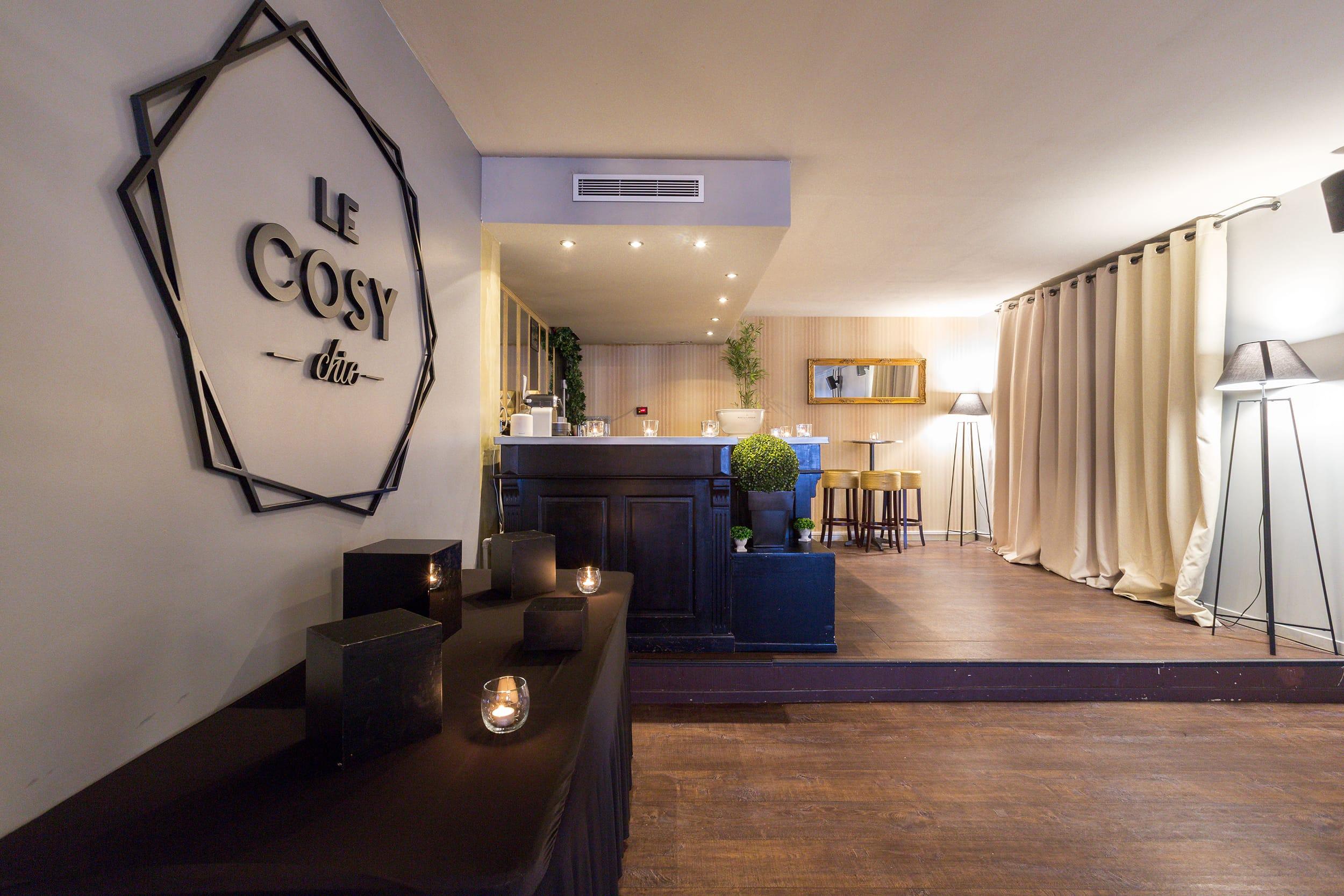 Le Cosy Chic ( lieu événementiel pour cocktail, réunion, séminaire)