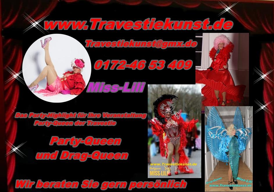 Travestiekunst Miss-Lili Die Party Queen