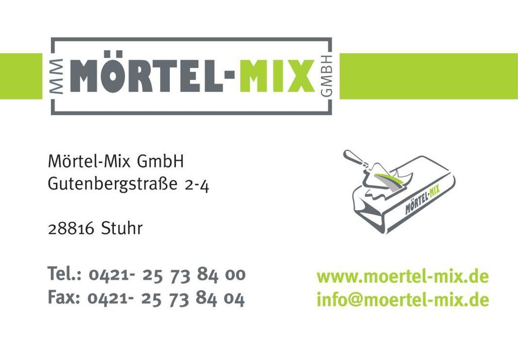 Bild zu Mörtel-Mix GmbH in Stuhr